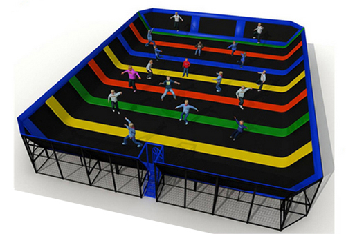 trampoline park for sale
