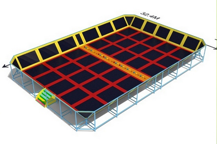 trampoline enclosures