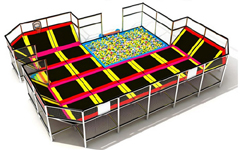 indoor trampoline places