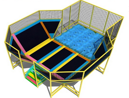 trampolines with net