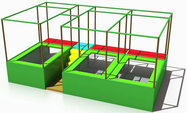 trampoline jumping place