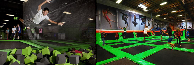 indoor trampoline park suppliers
